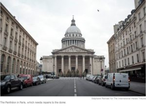 pantheon 300x219 - In Need, French Museums Turn to Masses, Chapeaux in Hand