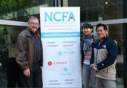 NCFA at TO Tech Race Craig Pat and Sunny - Team NCFA Canada Wrap-up:  North of 41 hosted Amazing TO Tech Race