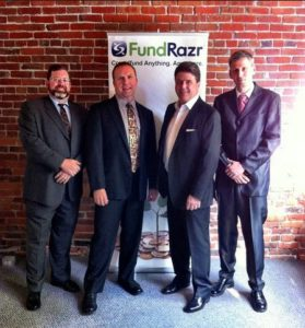 Team FundRazr launches Crowdfunding as a Service at Grow 279x300 - How FundRazr is Turning Websites into Crowdfunding Platforms