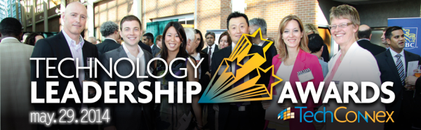 14 Slider Tech Awards 936x288px - Top 12 Technology Leadership Finalists Announced for 2014