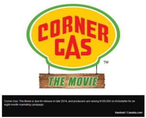 Corner Gas 300x243 - Should the rich and famous be crowdfunding for their projects?