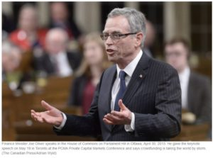 Joe Oliver 300x223 - Exempt Capital Markets Critical for Small Business in Canada