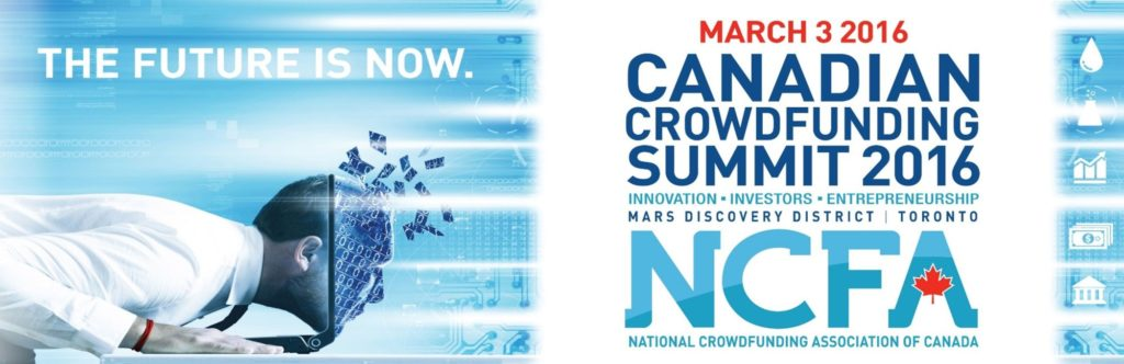 CCS2016 March 3 2nd Annual Canadian Crowdfunding Summit 1024x332 - The First 100,000 Funded Kickstarter Projects in 100 Numbers