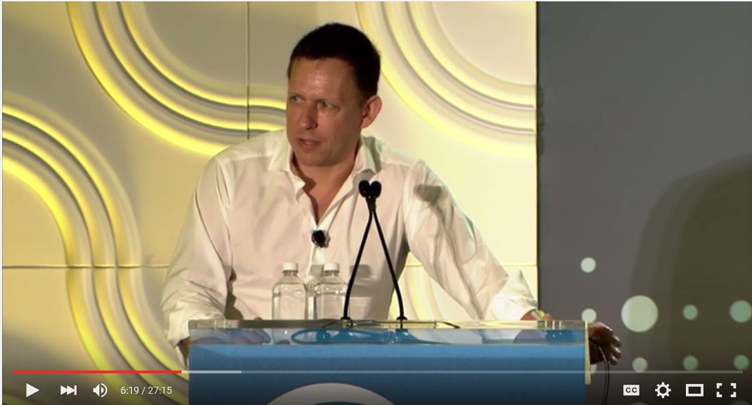 Peter Thiel LendIt 2016 - Video Library