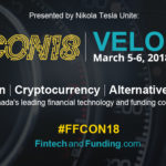 Public and Private Capital Markets Converge with Canada's Blockchain, Cryptocurrency and Fintech Leaders at FFCON18: VELOCITY on March 5-6 in Toronto