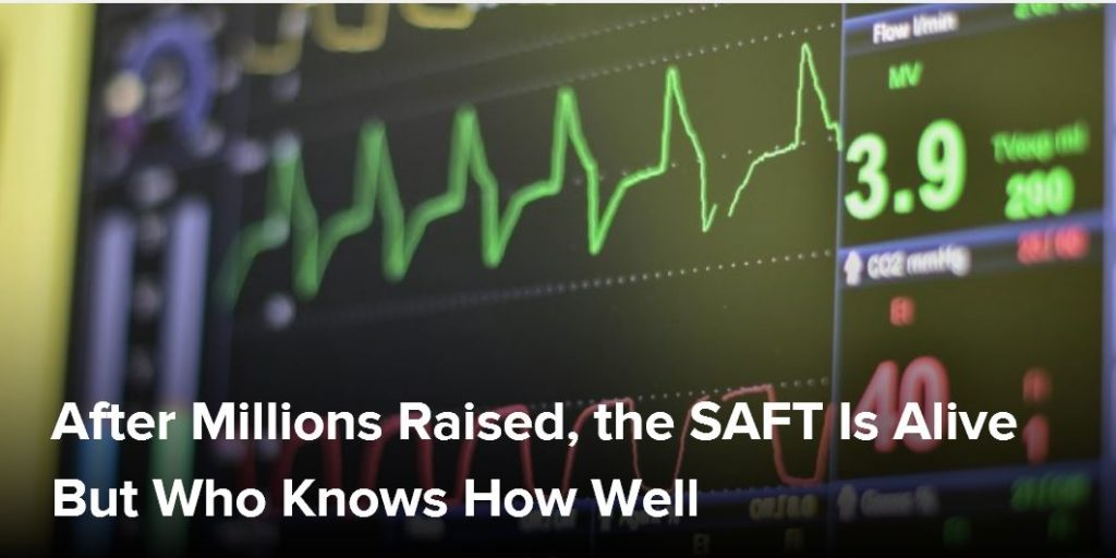 SAFTs alive but how well is unknown 1024x512 - After Millions Raised, the SAFT Is Alive But Who Knows How Well