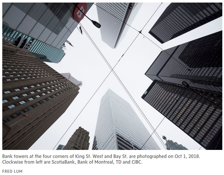 bank towers - While Canada debates, others are commercializing our most valuable asset: data