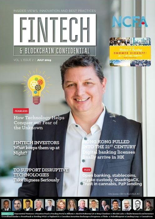 NCFA Fintech Confidential Issue 2 FINAL COVER - NCFA 2019 Conference Closes with Renewed Focus on Fostering Innovation in Fintech