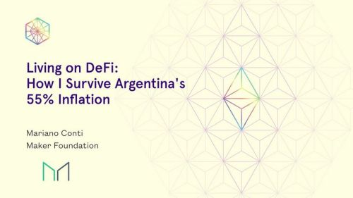 living on defi surviving 55 percent inflation - Living on Defi: How I Survive Argentina's 50% Inflation