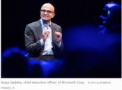 Microsoft CEO 175x130 - Tech CEOs call on political parties for policy action to drive digital economy