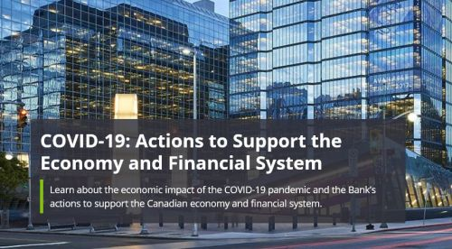 Bank of Canada response to Covid 19 - Bridge to Recovery: The Bank's COVID-19 Pandemic Response |  Open Banking Consultations Delayed in Canada