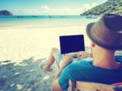 remote work beach 175x130 - A global view of how consumer behavior is changing amid COVID-19