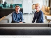 stripe founders John and patrick 175x130 - Canada's first public Bitcoin fund hits $100M mark