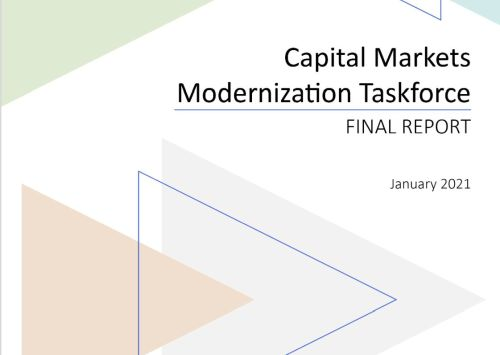 Ontario capital markets modernization committee final report - 5 Missing Necessities to Move Blockchain from 0.2% Global Penetration to the Remaining 99.8%